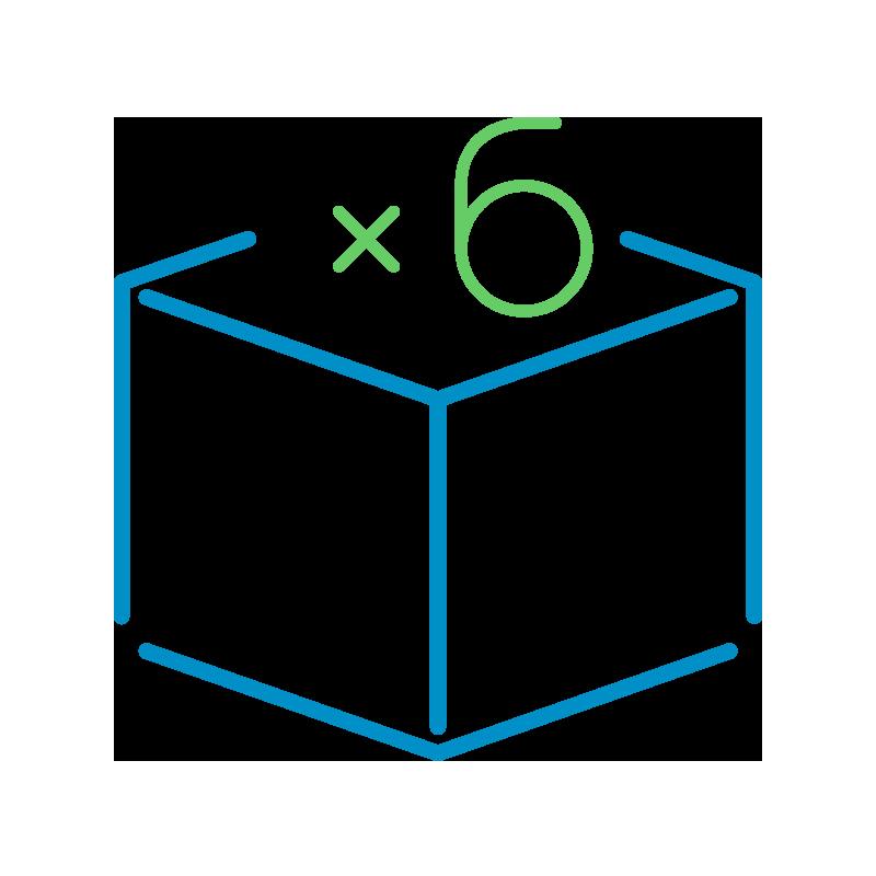 Icona-Quantità-X6