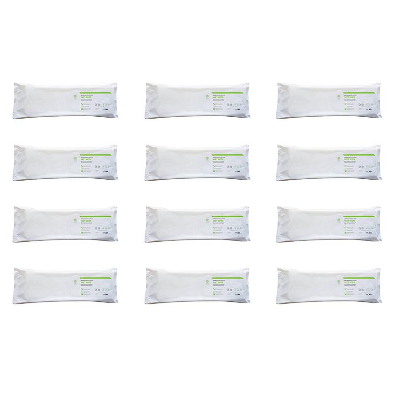 Panni Dry Wipe - 12 confezioni da 20 pezzi cad
